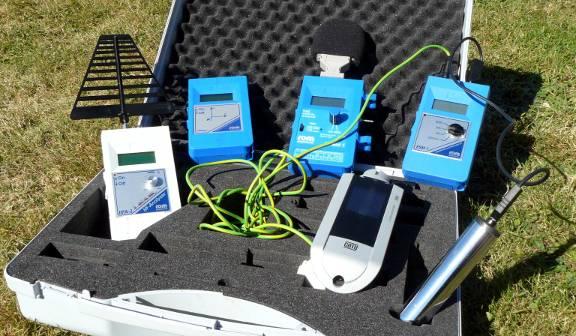 La malette d'outils utilisés en géobiologie